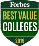 Forbes Best Value College 2019